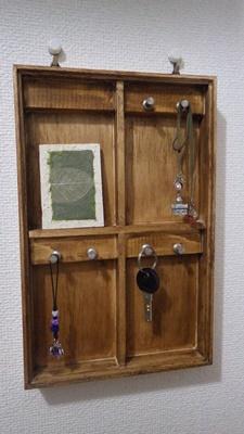 簡単手作りー玄関に便利なキーケースを作ってみよう!