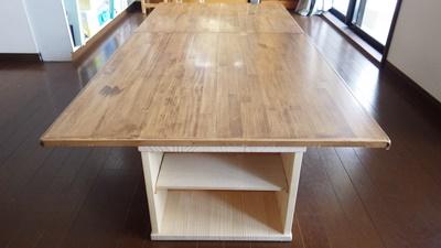 【DIY】テーブルをリメイク!コタツがよみがえりました♪