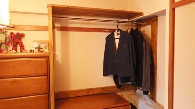 【DIY】和室にクローゼットを作りたい!その2